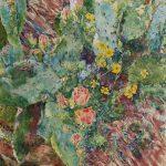 Big Cactus  96 x 72