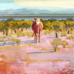 Heifer 30x24 Canvas