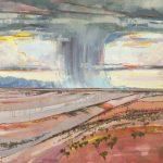Rain 48x48 Canvas