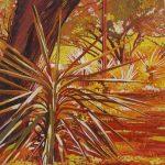 Red Yucca, 12 x 12